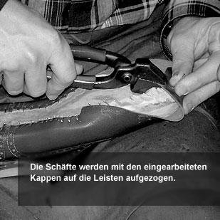 Der Herr der Schuhe - Maßschuhe Frankfurt - Zwicken
