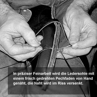 Der Herr der Schuhe - Maßschuhe Frankfurt - Doppeln