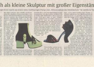 Jürgen Ernst - Der Herr Der Schuhe - 1999 Stuttgarter Zeitung - Metamorphose der Stöckelschuhs