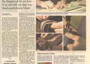 Jürgen Ernst - Der Herr Der Schuhe - 2003 Handelsblatt - Bericht