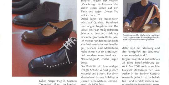 Jürgen Ernst - Der Herr Der Schuhe - 2010 Dreieich Direkt - Massschuhe