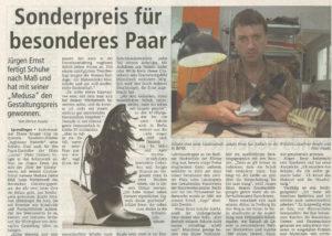 Jürgen Ernst - Der Herr Der Schuhe - 2010 Offenbach Post - Gestaltungspreis für Medusa