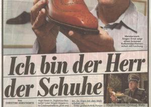 Jürgen Ernst - Der Herr Der Schuhe - 2012 Bild Zeitung - Alles nach Maß