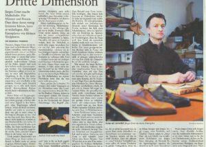 Jürgen Ernst - Der Herr Der Schuhe - 2013 FAZ - Dritte Dimension