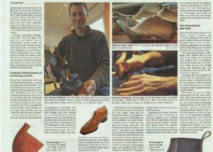 2015 Deutsche-Handwerkszeitung Massschuhe Frankfurt Jürgen Ernst