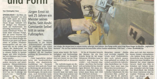 2015 Offenbach Post Massschuhe Frankfurt Jürgen Ernst