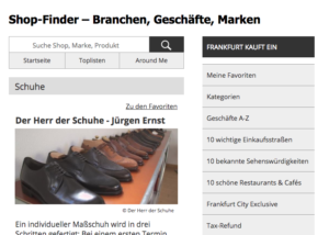 Maßschuhe, Der Herr der Schuhe - Jürgen Ernst, Frankfurt, Journal Frankfurt